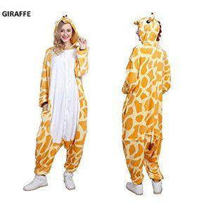 Pajamas Adult Animal OnePiece Giraffe Sm Cosplay